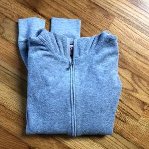 Juicy zip up size large fits like a medium